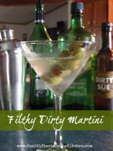 Filthy Dirty Martini
