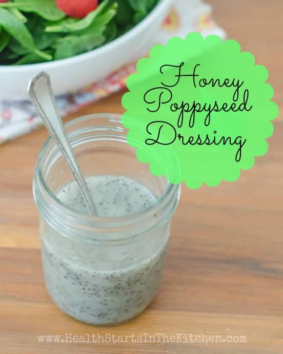 Honey Poppyseed Salad Dressing