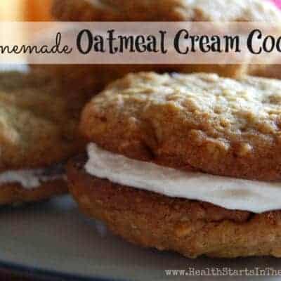 Oatmeal Cream Cream Cookies