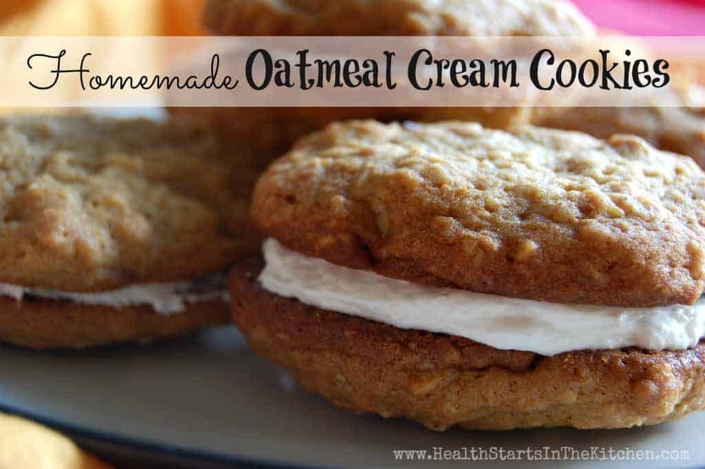 Oatmeal Cream Cream Cookies