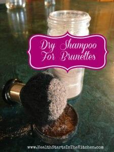 Dry Shampoo for Brunettes