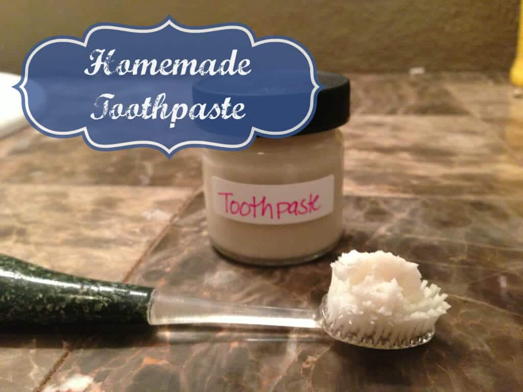 Homemade natural toothpaste health starts in the kitchen - Keep toothpaste kitchen ...