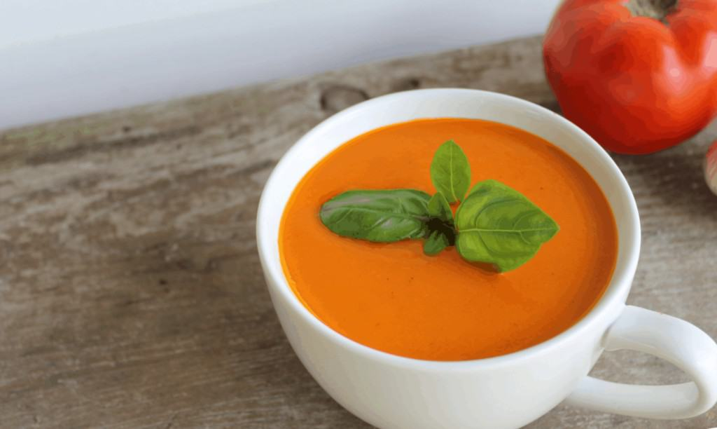 I hated tomato soup until I create this Roasted Tomato Soup Recipe. After making a big batch of this you'll never want to purchase the processed, unhealthy, canned version at the store again!