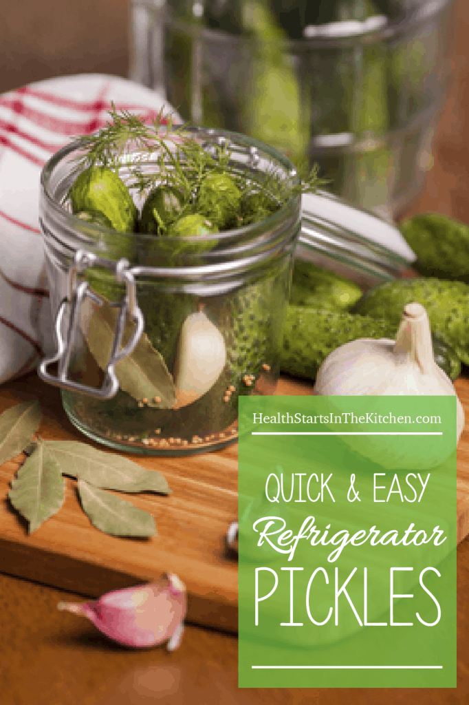 Quick & Easy Refrigerator Pickles
