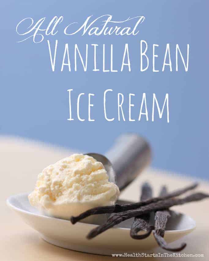 All Natural Vanilla Bean Ice Cream