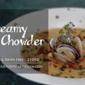 Grain & Dairy Free, Paleo Clam Chowder