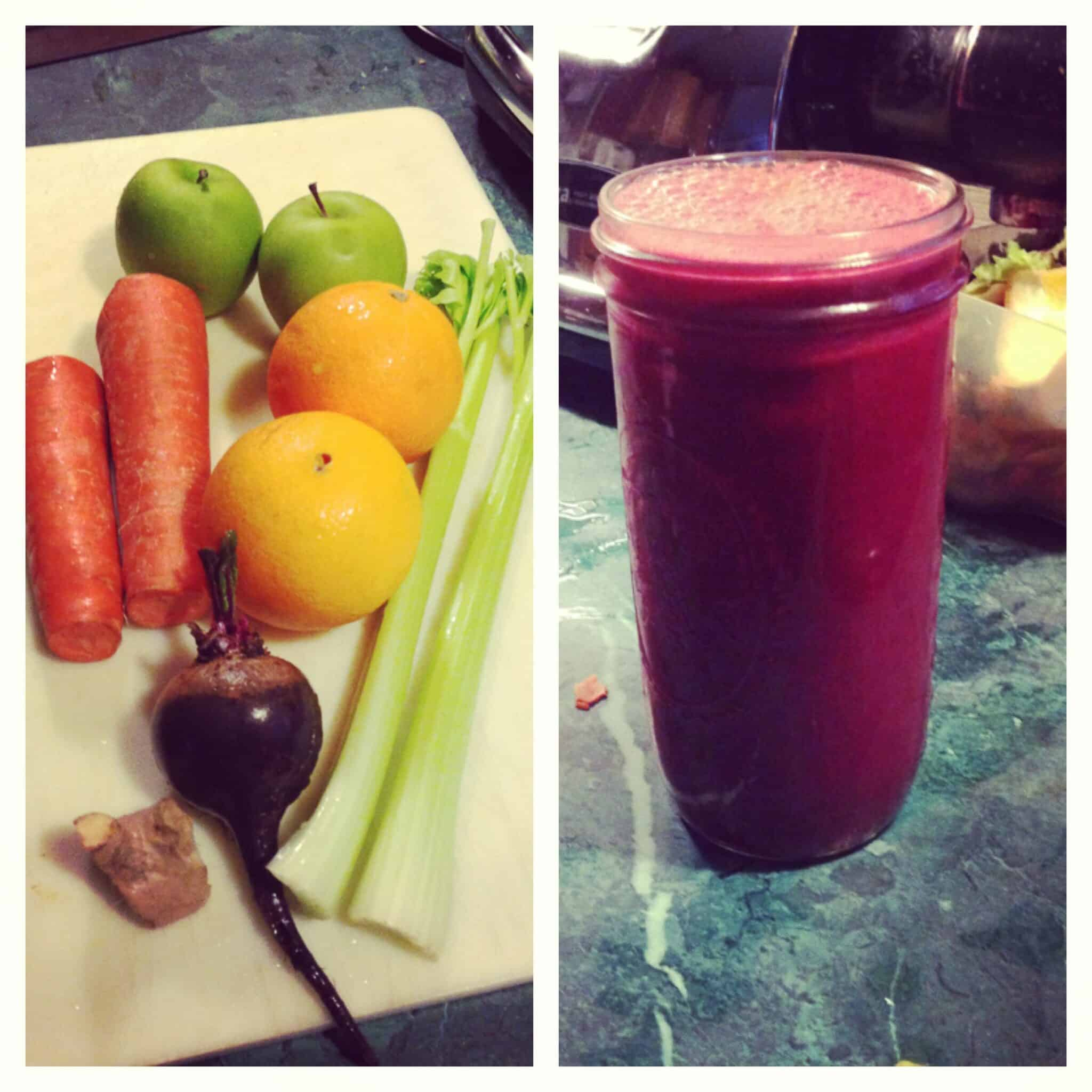 Red Bliss Juice