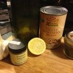 Herbed White Bean Dip Ingredients