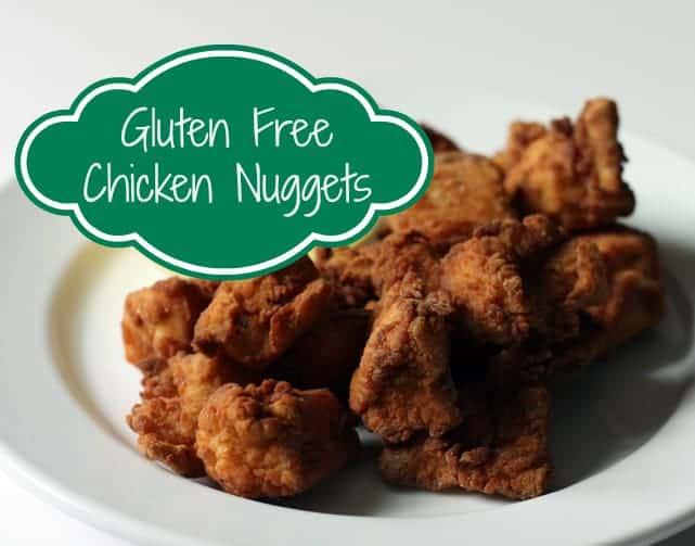 GF chicken nuggets