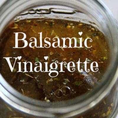 Easy Balsamic Vinaigrette
