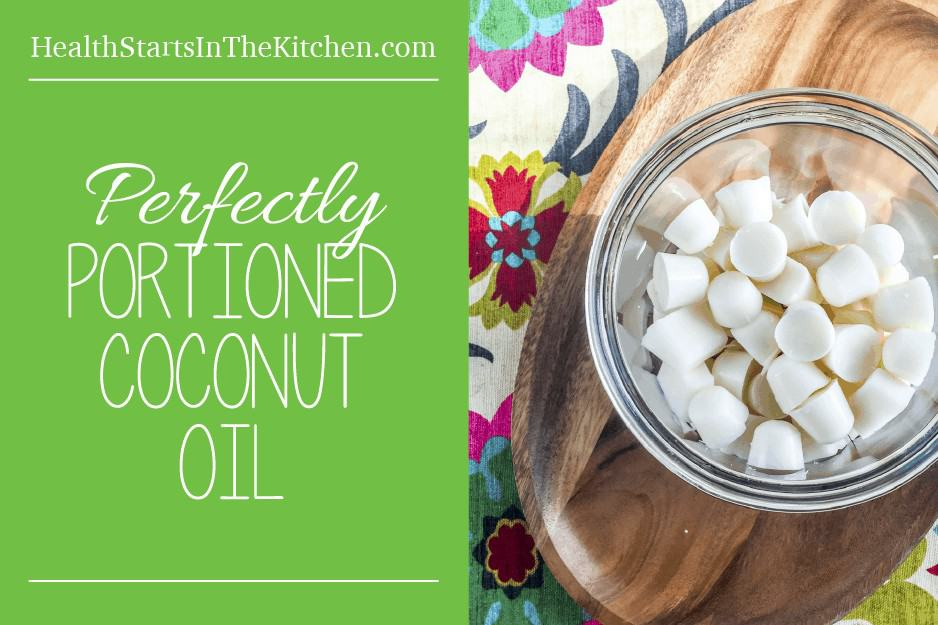 Perfectly Portioned Coconut Oil - No Fuss, Less Mess with all the health benefits of coconut oil!