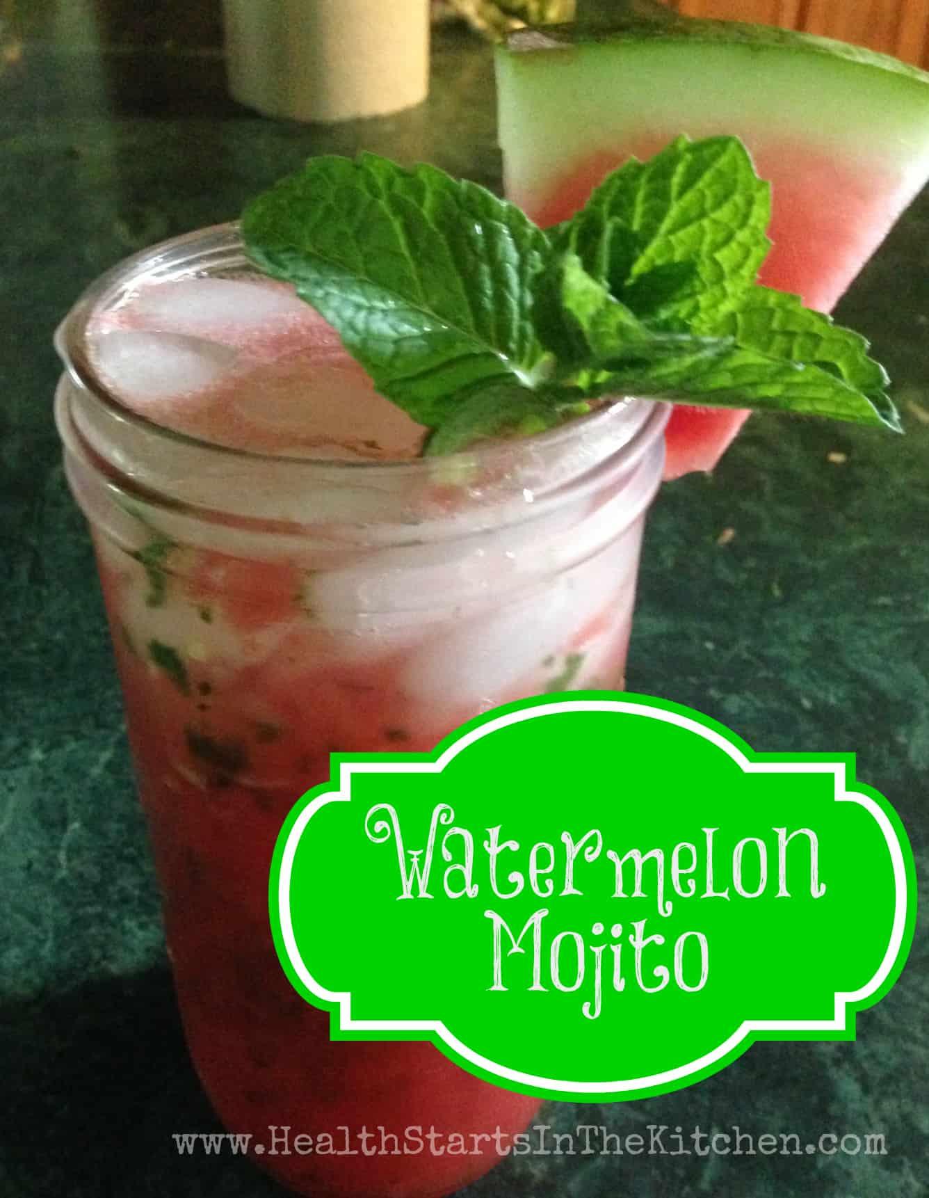 Watermelon Mojito Recipe — Dishmaps
