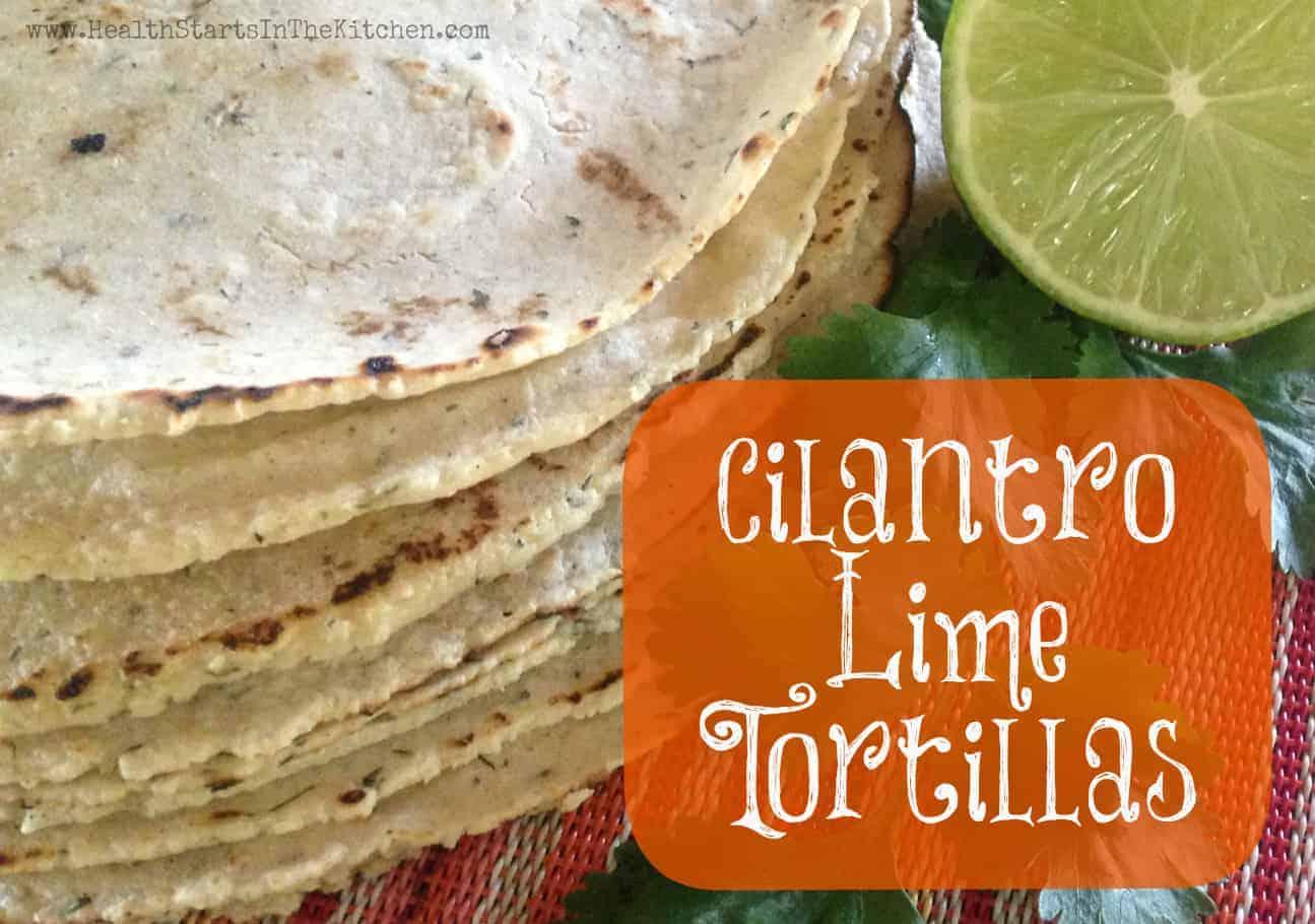 cilantro lime tortillas