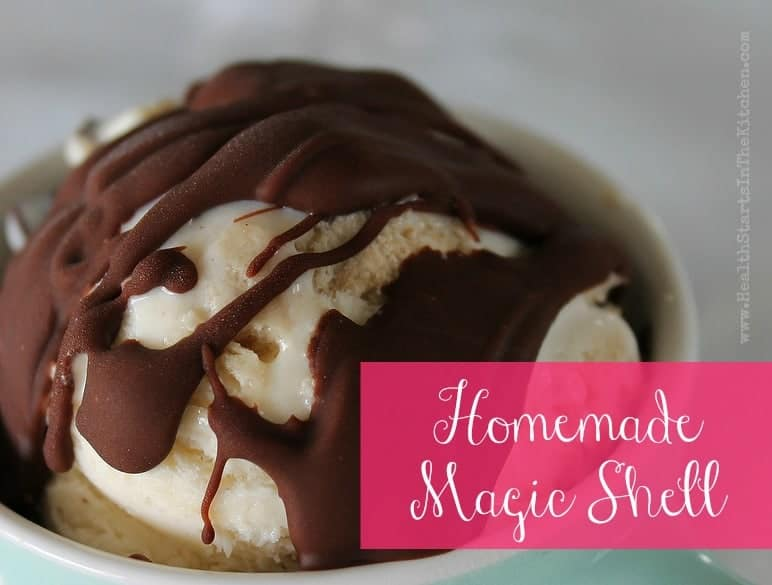 Magic Shell Ice Cream Topping - Health Starts in the Kitchen