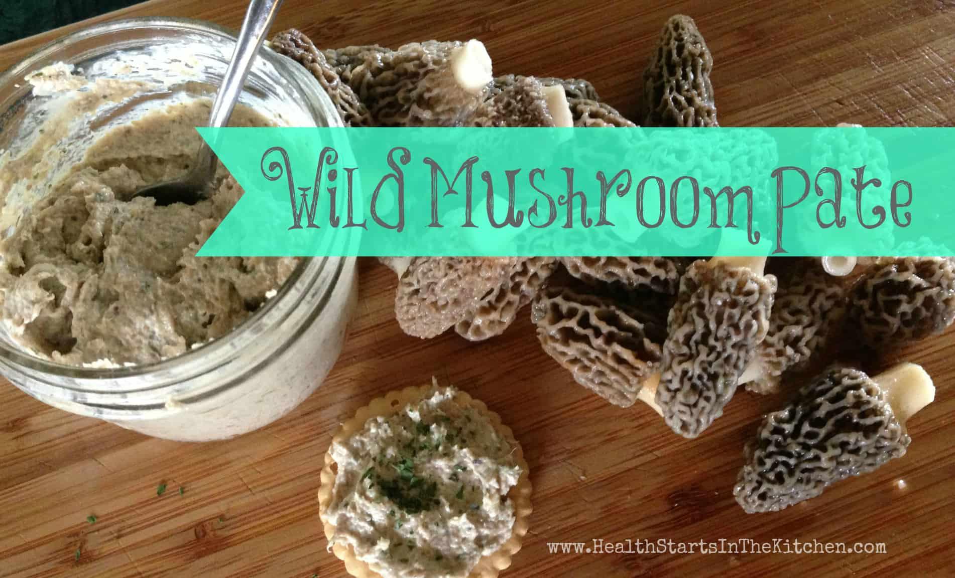 Wild Mushroom Pate