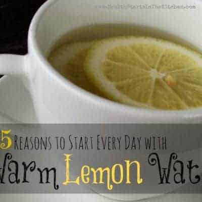5 Reasons to Start Every Day with Warm Lemon Water