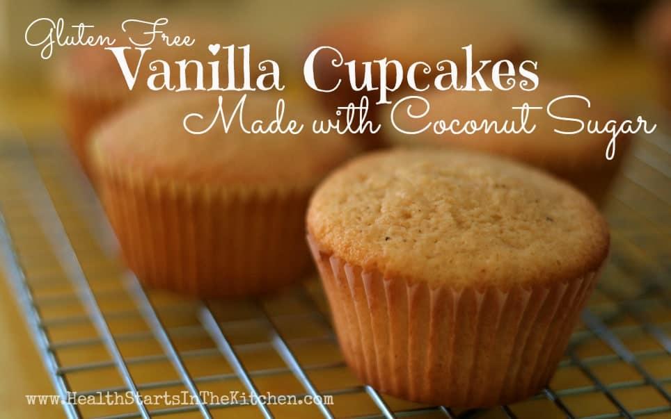 GF Vanilla Cupcakes
