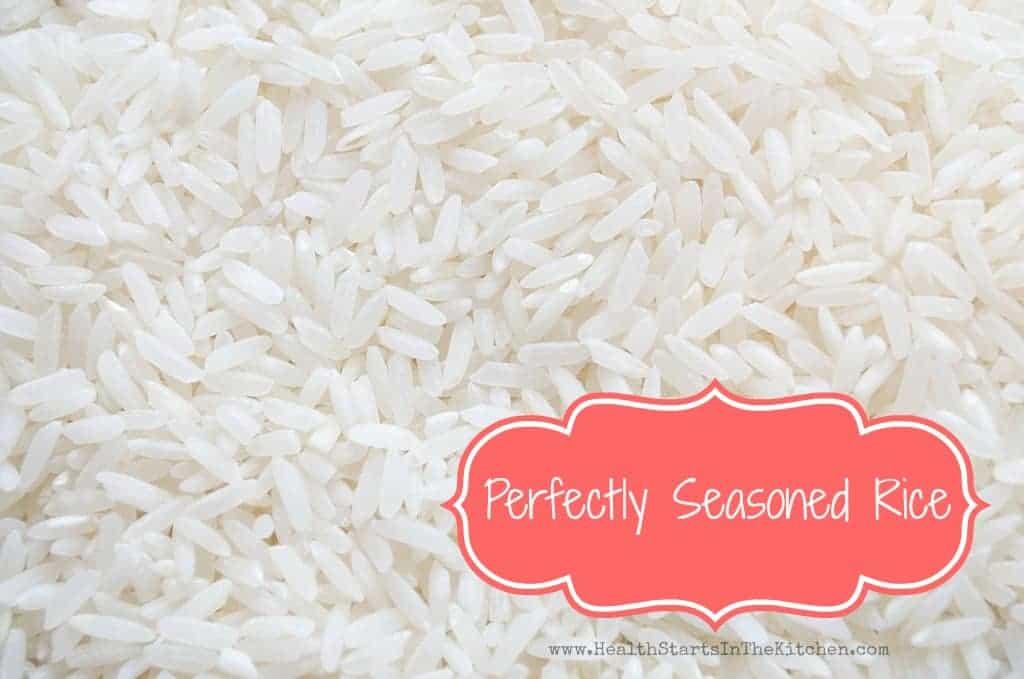 Perfectly Seasoned Rice