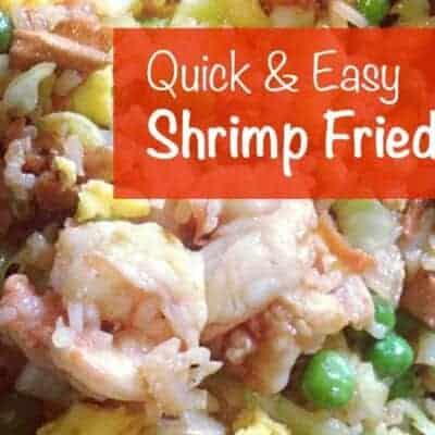 Quick & Easy Shrimp Fried Rice