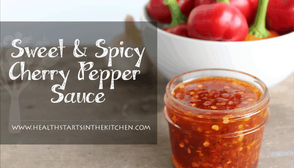 sweet & spicy cherry pepper sauce-01
