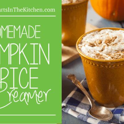 Pumpkin Spice Creamer {Grain & Gluten-Free and Paleo Friendly}