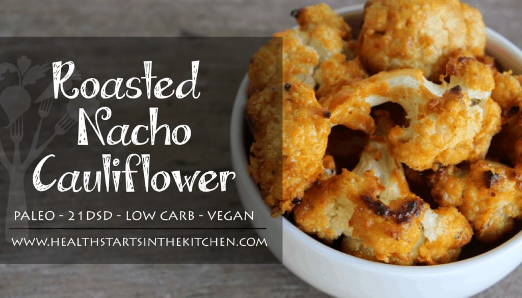 Roasted Nacho Cauliflower