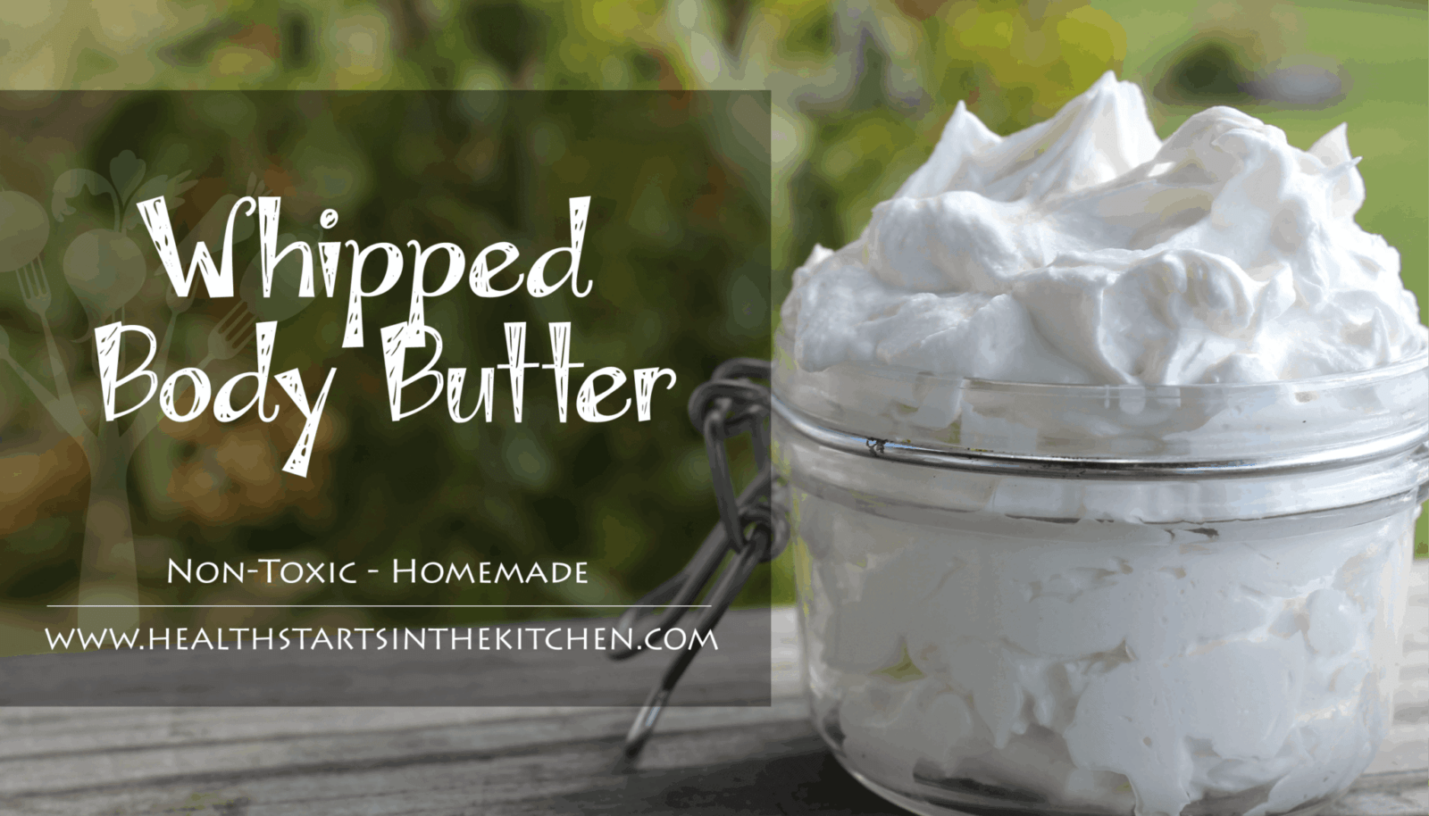 whipped tallow body butter - health starts in the kitchen