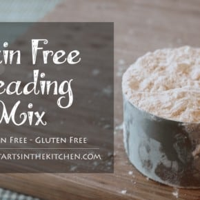 Paleo, Grain Free Breading Mix