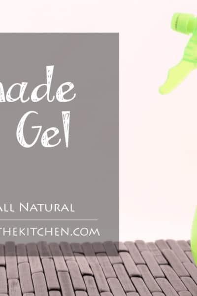 Homemade Spray Hair Gel - Health Starts in the Kitchen