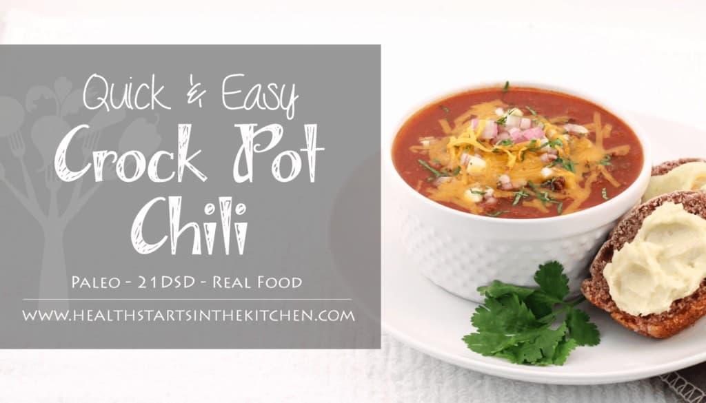 paleo crock pot chili