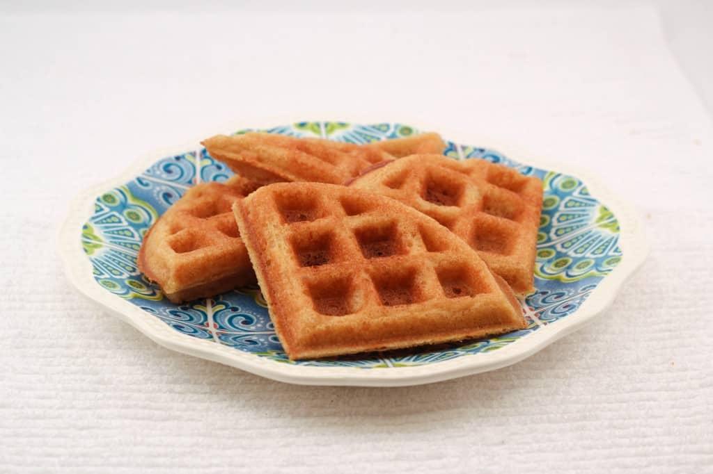 waffle centered