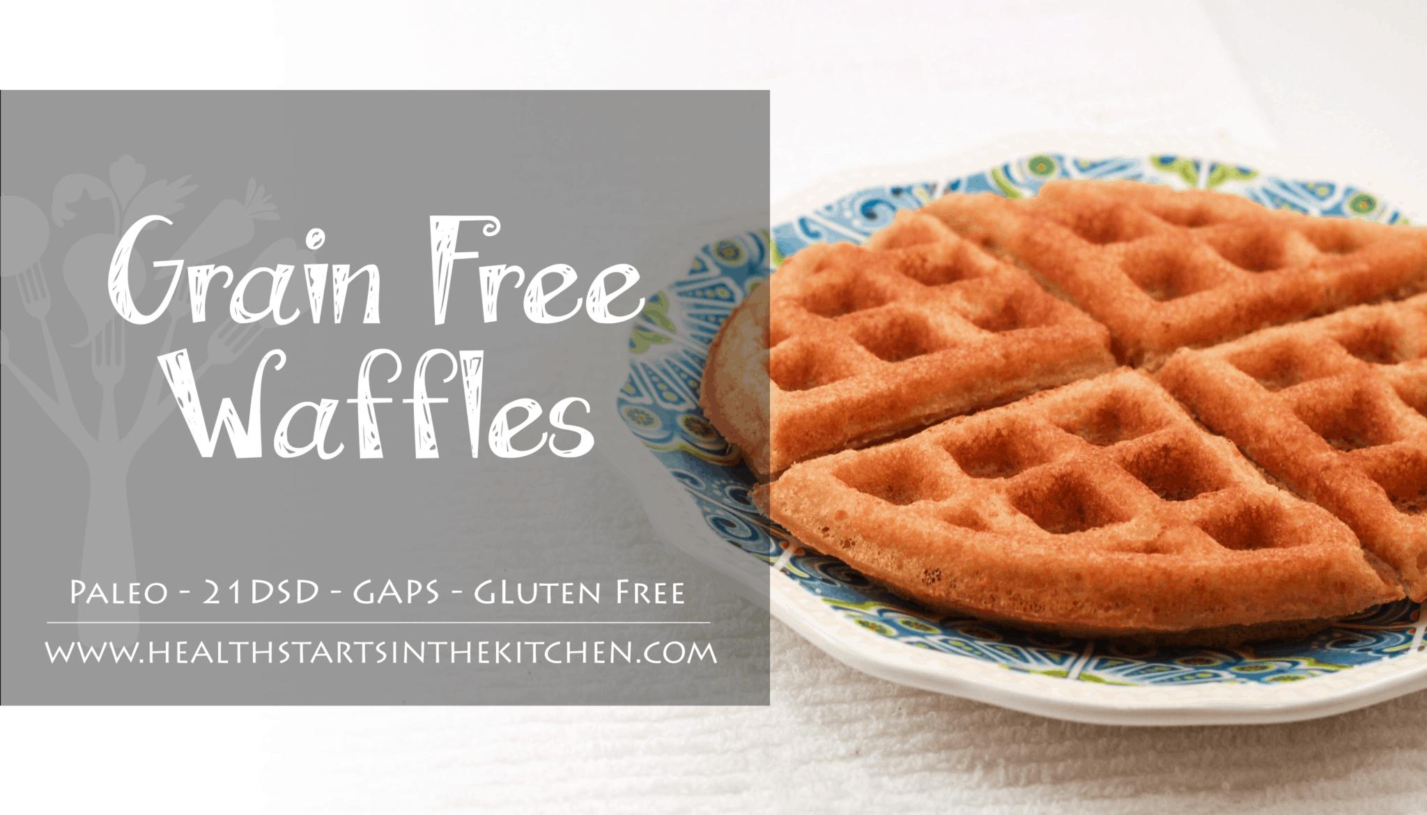 Crispy Grain Free Waffles