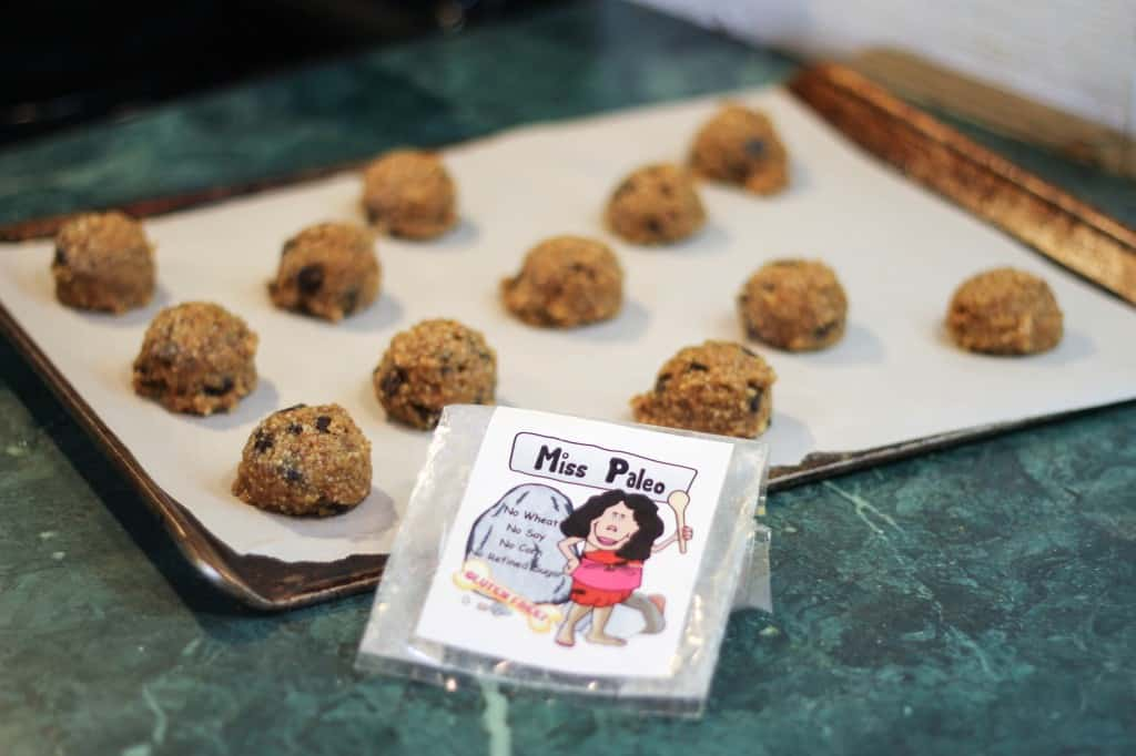 Miss Paleo Mixes Cookies
