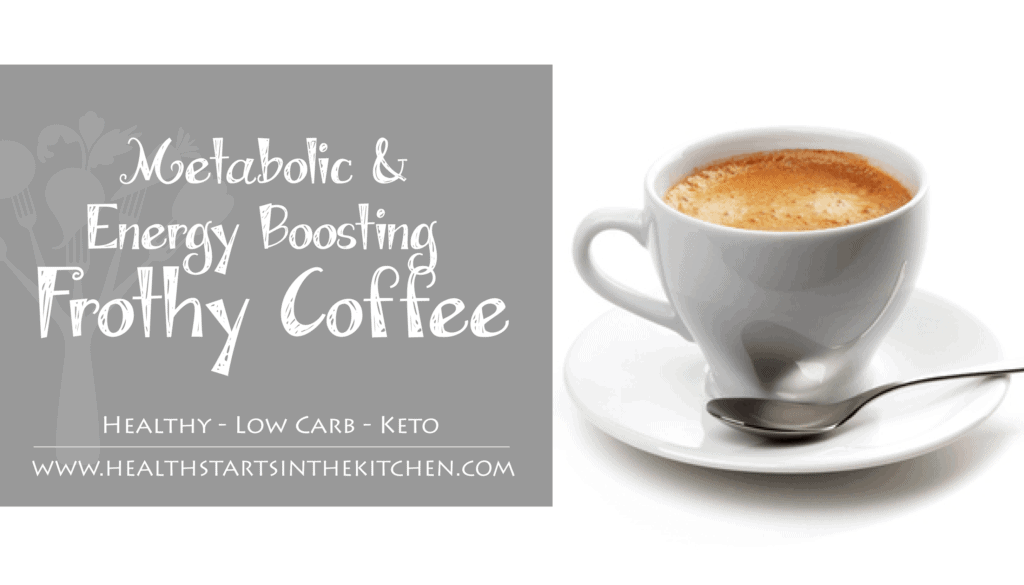 Metabolic and Energy Boosting Frothy Coffee