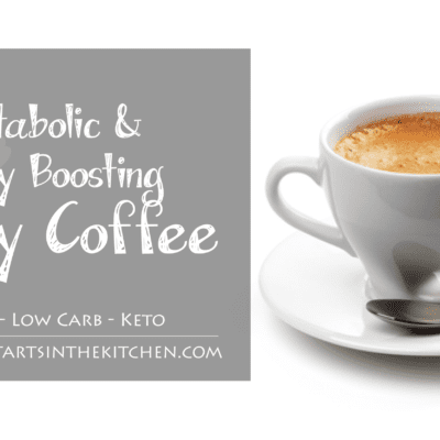 Metabolic & Energy Boosting Frothy Coffee