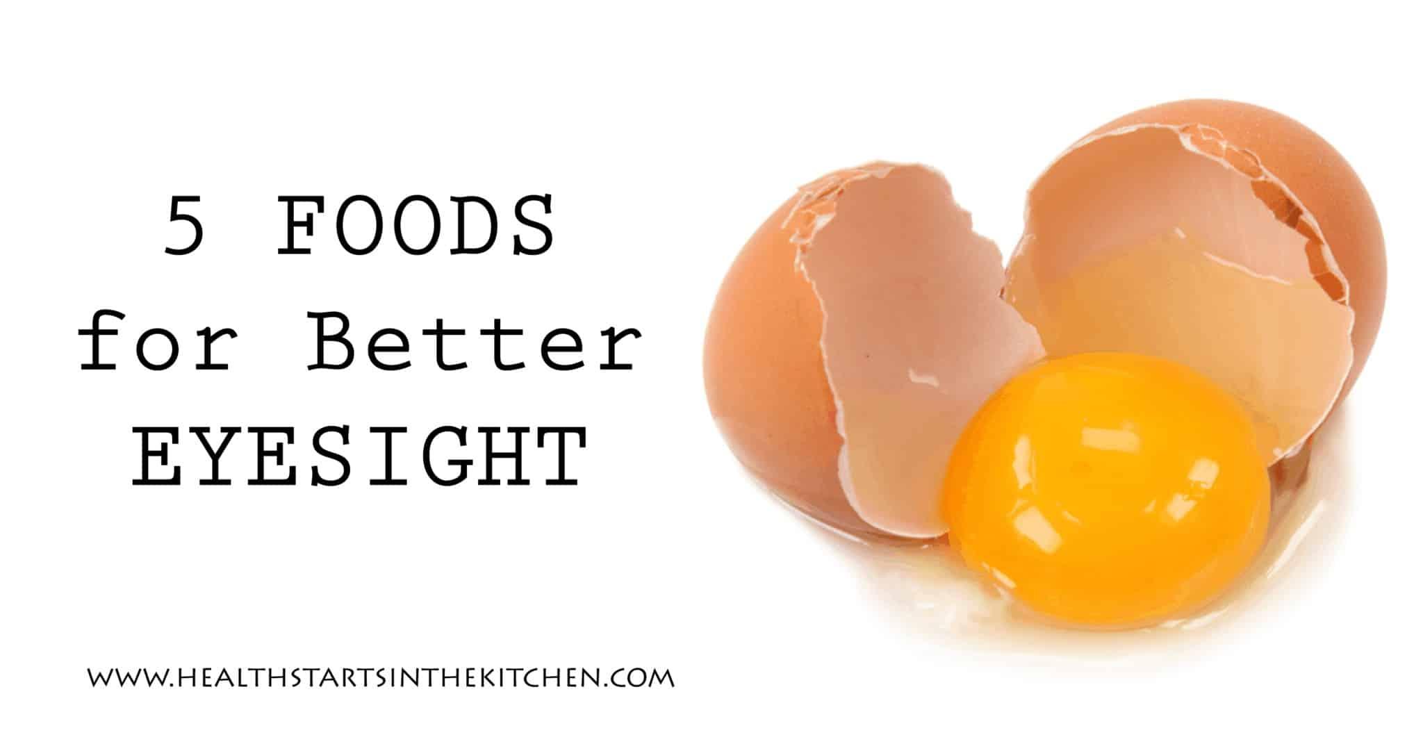 5 foods for better Eyesight