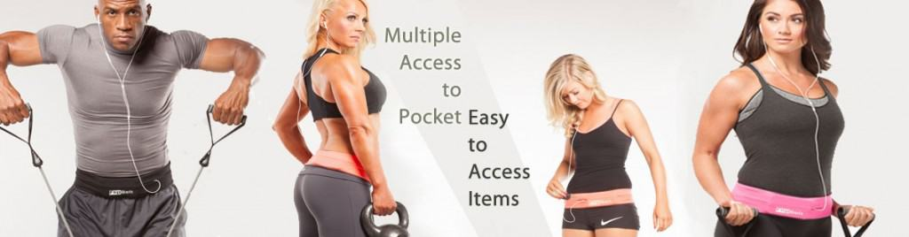 A FlipBelt Keeps all your essentials safe and secure while your exercising or hiking