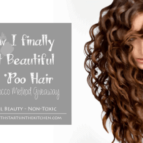 How I finally got beautiful No Poo Hair and a Morroco Method Giveaway