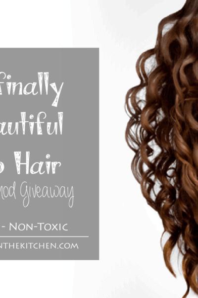 How I finally got beautiful No Poo Hair and a Morroco Method Giveaway