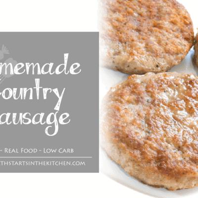 Homemade Country Breakfast Sausage Seasoning