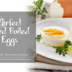 Here's the secret to Perfect Hard Boiled Eggs! They peel perfectly and not yucky dark ring around the yolk! Even works on Farm Fresh Eggs - Health Starts in the Kitchen