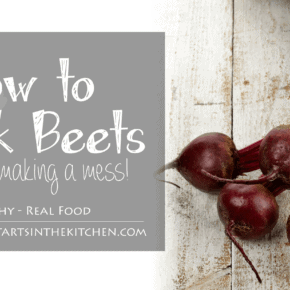 This is the easiest way to cook beets without making a mess!