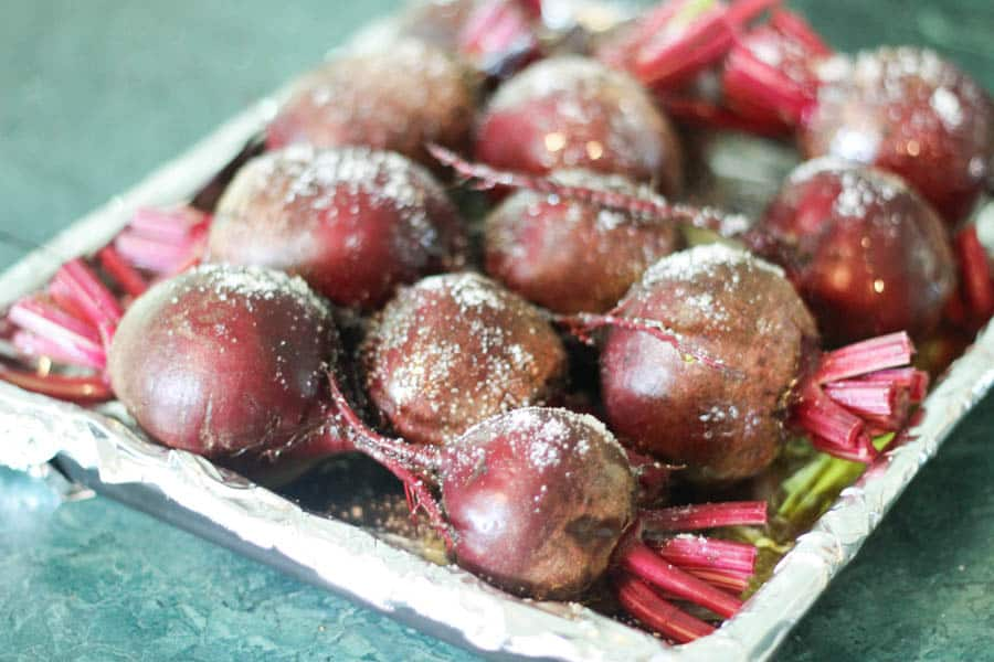 Learn How to cook beets, without making a mess!