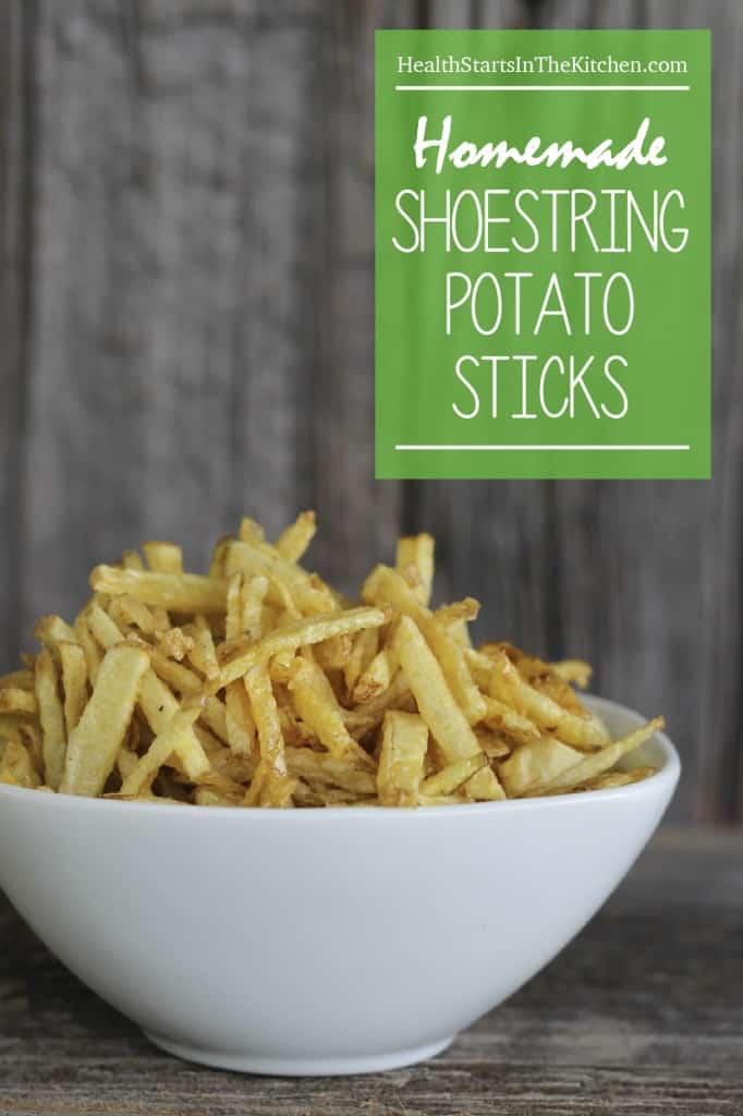 Homemade Shoestring Potato Sticks