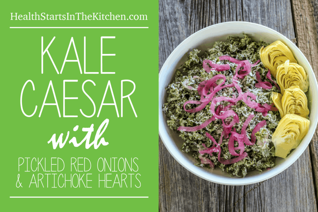 Kale With Avocado And Pickled Red Onions Recipe — Dishmaps