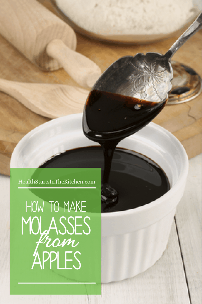 How to make homemade Molasses (from Apples)