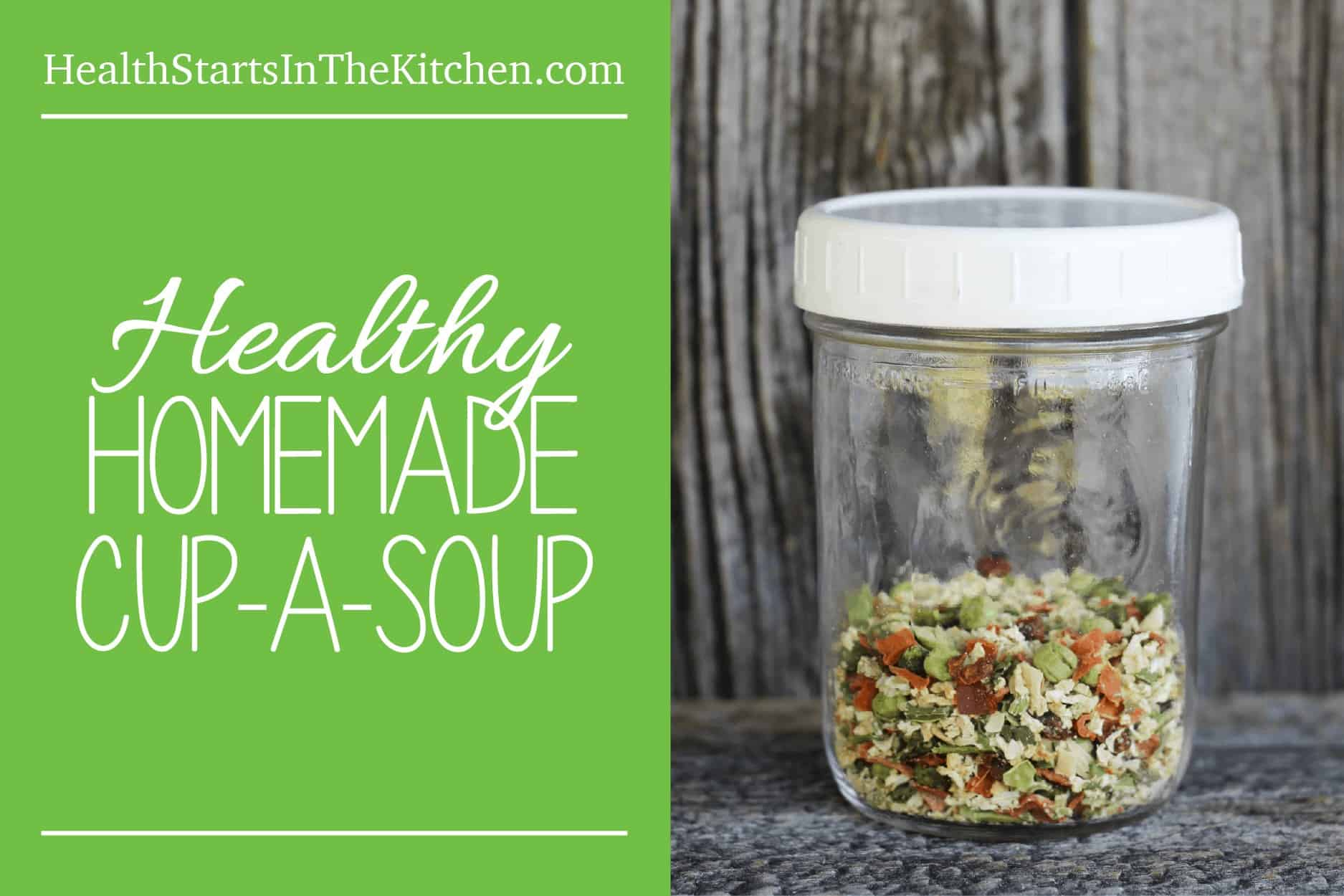 How to make Homemade Cup-A-Soup! Paleo, Low-carb, Vegetarian, Vegan & Low-Cal Friendly!