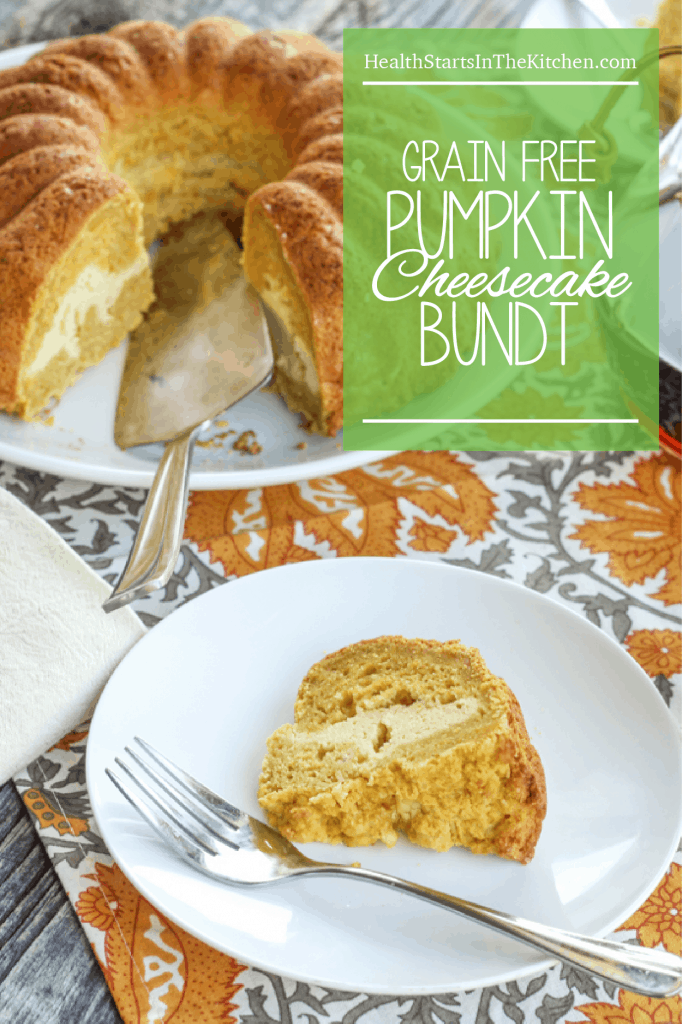 Grain-Free Pumpkin Cheesecake Bunt + Mighty Nest Giveaway