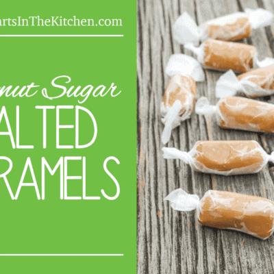 Coconut Sugar Salted Caramels