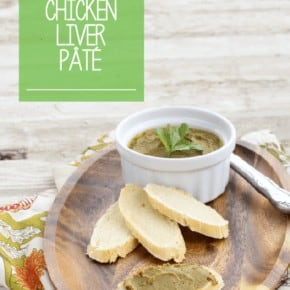 The most DELICIOUS Chicken Liver Pate. The ingredients help to gently mask the liver flavor and make it a great way to gently incorporate healthy organ meats into your diet. #Paleo #Primal #DairyFree #EggFree #AutoImmunePaleo #LowCarb
